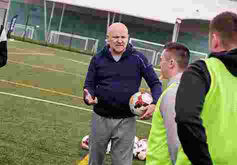 Future Leaders In Sport Conference St Georges Park Mike Phelan Coaching LQ AT9I1516 25Apr18
