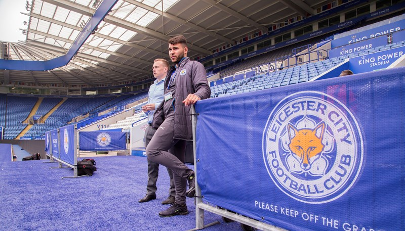 Lino Altieri, Leicester City