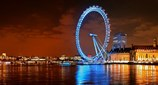 view Light Night London Eye London United Kingdom
