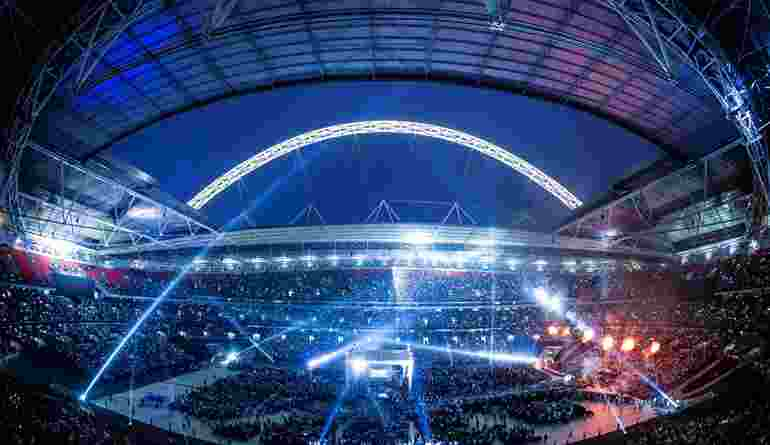 Carl Froch Vs George Groves At Wembley Stadium, Home Of UCFB Wembley