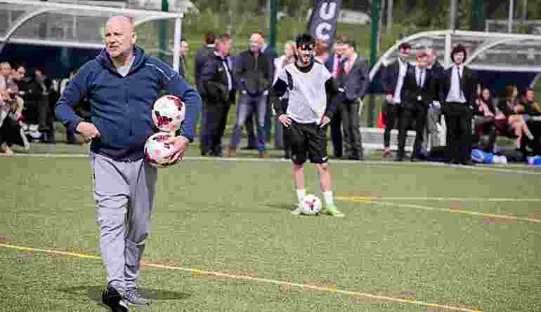 Future Leaders In Sport Conference St Georges Park Mike Phelan Coaching LQ AT9I1549 25Apr18