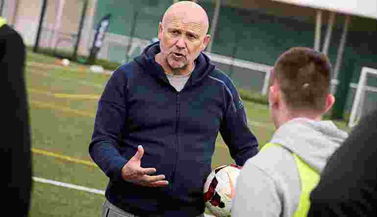 Future Leaders In Sport Conference St Georges Park Mike Phelan Coaching LQ AT9I1519 25Apr18