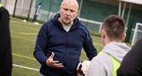 view Future Leaders In Sport Conference St Georges Park Mike Phelan Coaching LQ AT9I1519 25Apr18