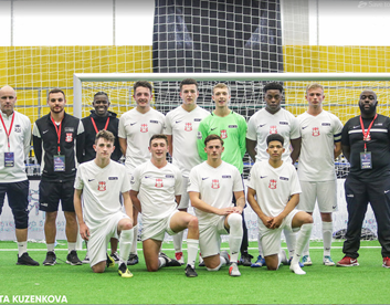 UCFB students represent Great Britain at Mini Football U21 World Cup