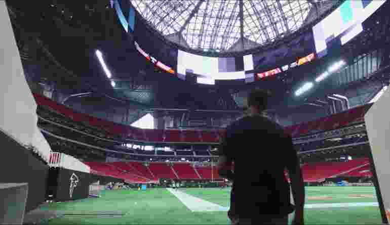 Mercedes Benz Stadium Interior 2017 08 25 1