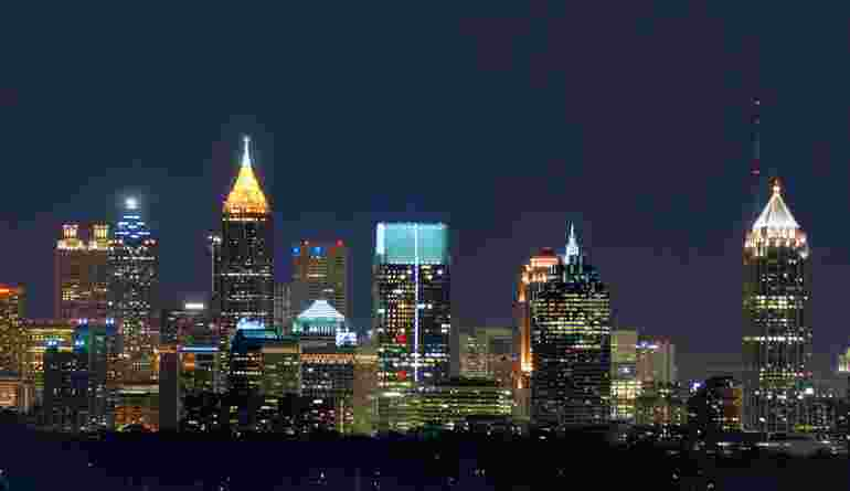 Atlanta Skyline From Buckhead (1)
