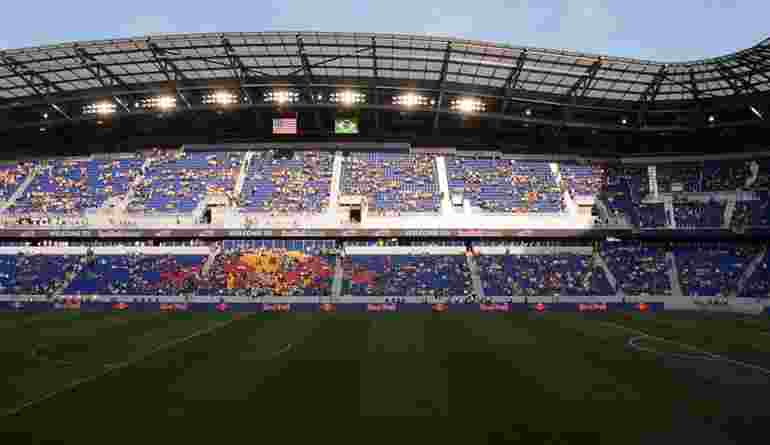 Red Bull Arena Grand Opening Stands