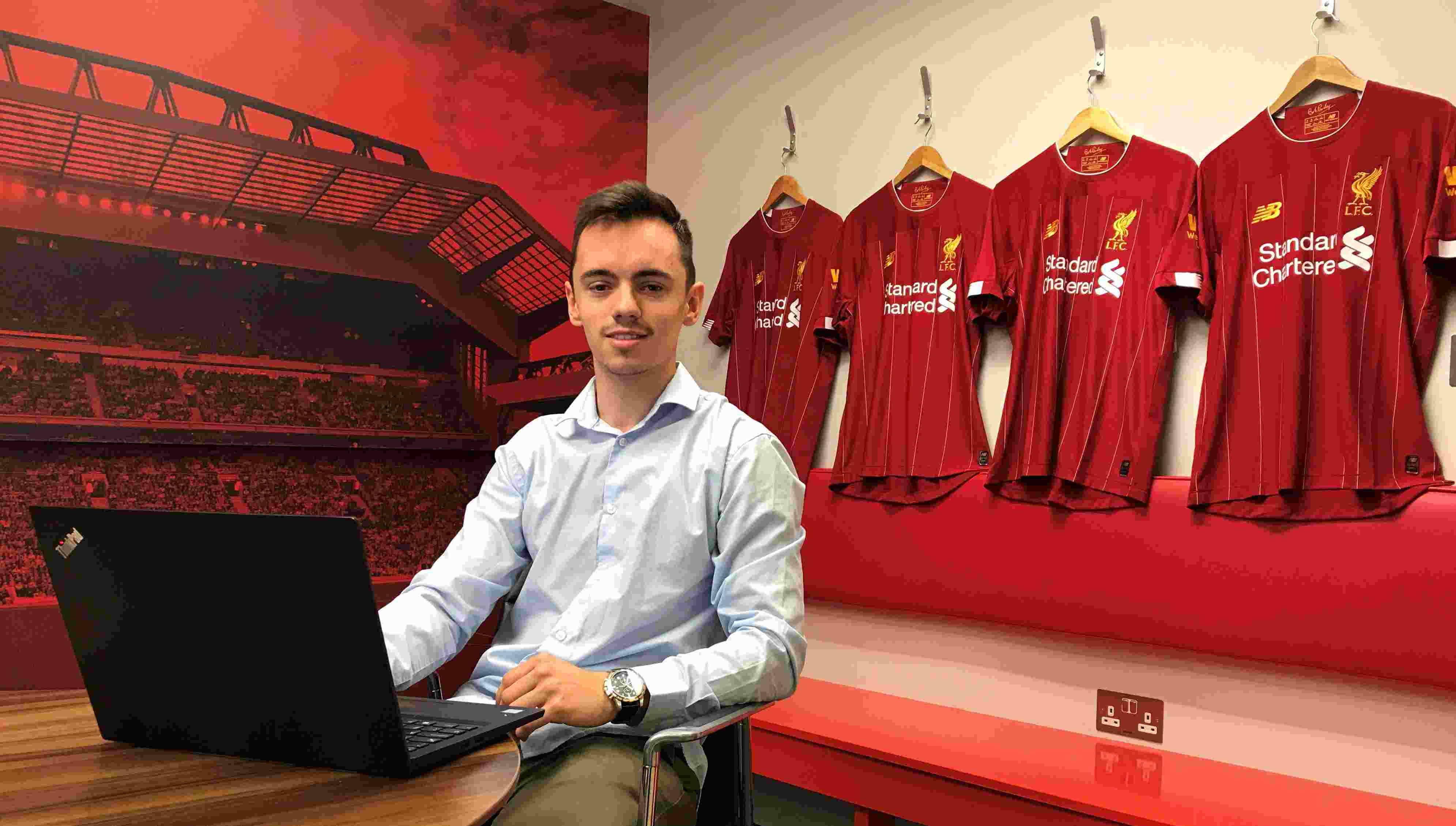 Student Blake reflects on memorable Champions League final experience
