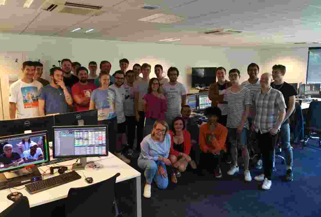 Broadcast Academy provides live event experience to UCFB students at Roland Garros