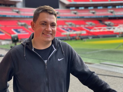 Callum studies MSc International Sport Management at UCFB Wembley