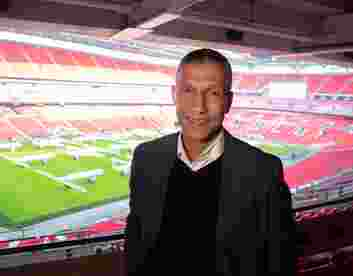 "Chris Hughton: ""The best I played against was Ruud Gullit."" 