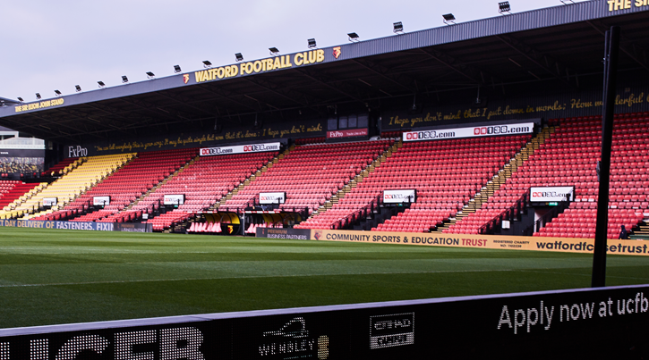 UCFB to become the Official Higher Education Partner of Watford FC