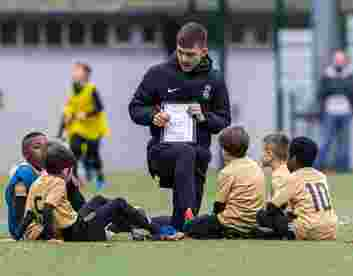 UCFB students playing a vital role in coaching Bloomsbury Football youngsters
